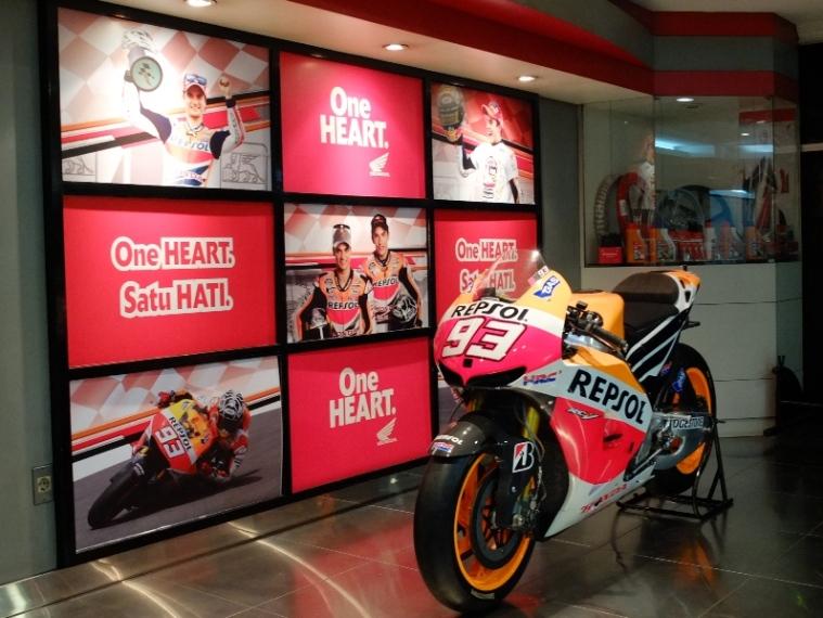 RC213V di kantor Astra Honda Motor, Sunter Jakarta