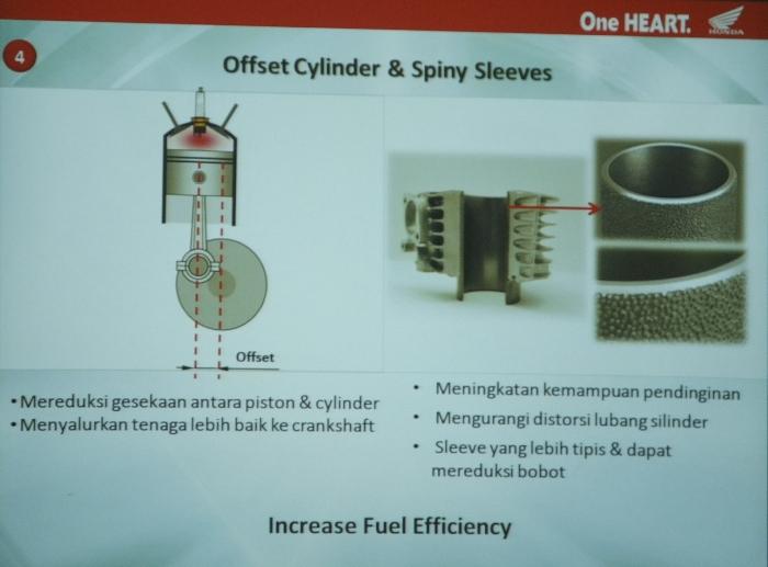 bengkelsepedamotor offset cylinder